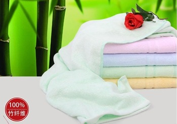 Free shipping,Hot sale 4pcs/lot 140x70cm, Towel, Bamboo towel,100%Bamboo fiber, Natural & Eco-friendly, Solid color, Nice soft
