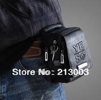 WB-002-16 yeso casual man waist pack handbag cross-body shoulder bag small messenger bag mini  sport outdoor bag