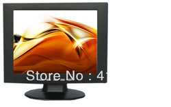Manufacture ! 10 inch cctv lcd monitors with AV /VGA/BNC in + Fedex free shipping(China (Mainland))