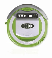 (Free shipping to Russia)Robotic vacuum cleaner -4 in 1 multifunctional ,5 working mode,RF control,low noise,the best vacuum