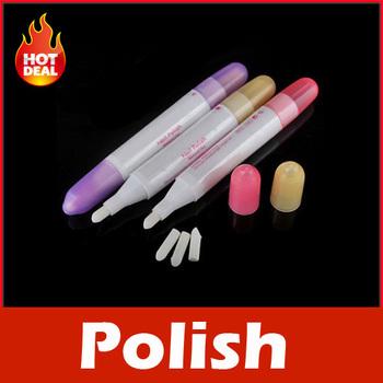 1X Nail Art Polish Corrector PenRemove Mistakes +3 Tips