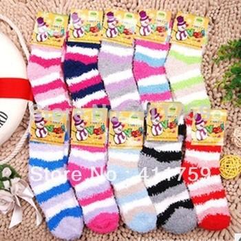24pcs=12pairs/lot Chidren winter Socks, children warm socks, kids winter socks,2 sizes for 1 year and 2-3 years old, AEP09-W1211