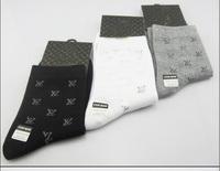 Free Shipping Brand Men's Socks /Cotton Socks Men's knee-high wholesale 10 pairs/lot