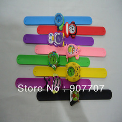 Free Shipping 2012 Fashion Animal Shape Mini Slap Watch, Kids Watch + 10 colors(China (Mainland))