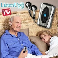 Wholesale Listen Up Personal Sound Amplifier &amp; Hearing Aid As Seen On TV 2pcs/lot