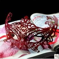 Free ship!15 pc!The fashion creative dance performances fox masks / party princess mask/6 color for choice