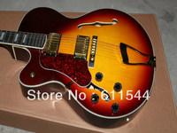Free Shipping Newest Sunburst L-5 Classic Left Hand Jazz Guitar High Quality Wholesale