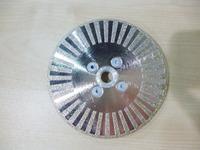 "[CPC-EDB203] 5"" inch  Electroplated diamond cutting & polishing disc with 7/8"" flange"