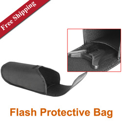 Universal Flashing Light Bag Flash Protective Bag 20x9x6cm(China (Mainland))