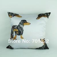 FREE SHIPPING cushion cover 45*45cm -- Dachshund
