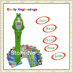 Free Shipping Profession Language Learning Machine for Children ,1 year Guarantee/OEM service(China (Mainland))
