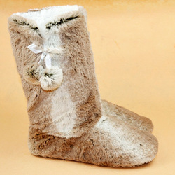 Indoor Floor boots flat slippers made with plush material, Anti-skid and waterproof sole, FREE SHIPPING, 4USW03(China (Mainland))