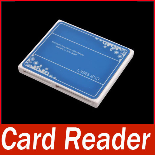All in One USB 2.0 Memory Card Reader TF Mini SD M2 MS(China (Mainland))