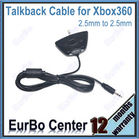 Headset Headphone Converter Adapter Cable for Xbox 360 Headset Port To Audio Jack Cable (EX034)