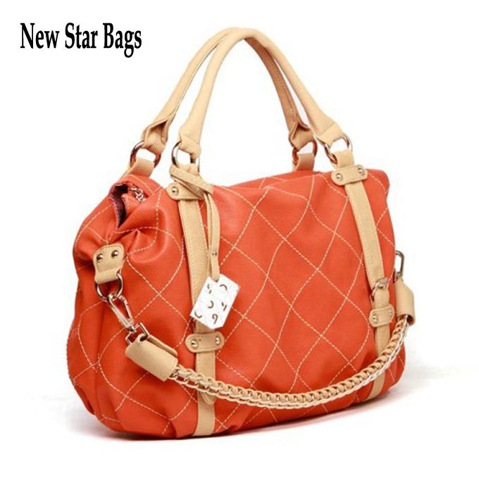 New Star Bags Hot Fashion High Quality PU Leather Women Hong Kong OPPO Shoulder Bag Popular Chain Handbag 688-12(China (Mainland))
