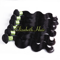 Wholesale: 5A GRADE! 4pcs/lot Body Wave Brazilian Virgin REMY Hair Cuticles Aligned no Sheds Free Shipping