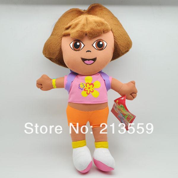 """Frete grátis EMS 30/Lot Dora a 12 Toy Explorador Plush Backpack Boneca Figura """"(China (Mainland))"""
