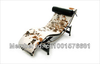 Le Corbusier Chaise Longue Chair LC4,Genuine Leather sofa,Classic furniture