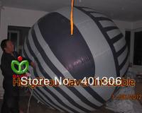 3m Hang lighting Inflatable eye for advertising full digital printing