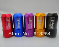 New Arrival! 7075 D1 Spec Racing Car Wheel  Lug Nuts M12XP1.25/P1.5  20pcs/Black, red, gold, blue,purple