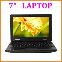"7"" Students netbook Android 4.0 wm8850 CPU 1.5Ghz build-in Camera WIFI HDMI RJ45 More color available"