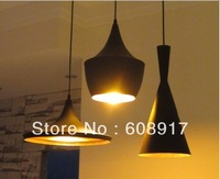promotion ! 2 Type 2 Color Metal Musical Instruments Fashion Drop light and Lamp & White,Black,