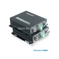 Charmvision EVO-104-M, CCTV 4chs video camera optical fiber transceiver, mini type easy install, single mode single core to 20km