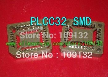20pcs PLCC32 32 Pin SMD Socket Adapter PLCC Converter
