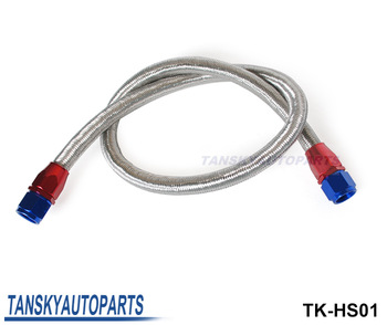 Tansky - Universal Oil Feed Kit 1meter Stainless Steel Braided hose - AN10 fittings TK-HS01