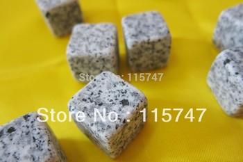 2012 ! Whisky stones 6pcs/set +velvet bag 100% natural, whiskey rocks wine ice stone ...