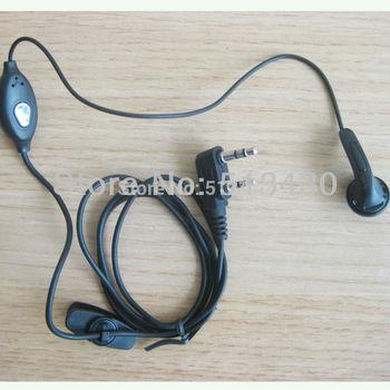 Wholesale manufacturing two way radio handsfree mini earpiece 4 portable radio Puxing Wouxun Baofeng uv-5r Linton TK Quansheng