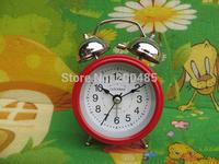 "2.5"" metal twin bell alarm clock"