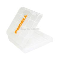 Free Ship 4pc Hard Plastic Case Holder Storage Box  for  LR03 ,LR6 Alkaline,Ni-MH /Ni-CD/Ni-Zn AA / AAA  Portable Battery  Case