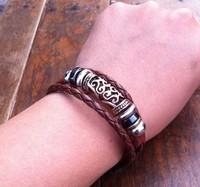 Silver  Old reactionary style bracelet,adjustble strps