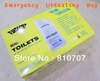 1 Box Emergency Closestool Urine Bag Outdoor Driving Car Traffic Jam Unisex Mini-toilet Auto Travel Disposable Highway Essential
