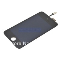 For iPod Touch 4 Lcd Display Touch Digitizer Asembly Free Shipping DHL EMS