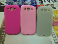 Low price! High quality glossy silicone Gel soft case for Samsung Galaxy S3 SIII i9300 free shipping 100pcs/lot