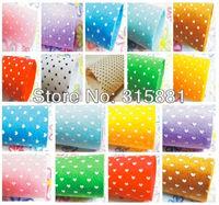 "Printed Polka Dots,Hearts,flowers Felt Fabric 26pcs/lot 12"" x 12"" ( 30cm x 30cm),"