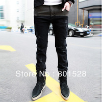 Kingtime  Freeshipping 2013 Korean Fashion Haren Male Tide Trousers Casual Pants Jeans .Chinese Size:28-33  KTA43