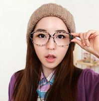 Free shipping!Wholesale Vintage Retro Oversize Eyeglasses cheapest Spectacles Clear lenses reading glasses