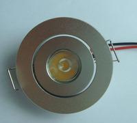 1W LED Recessed Ceiling Light White bulb 85~265V Lamp 90 lumens led 10pcs