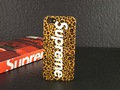 MOQ 1pc Fashion Supreme Leopard camouflage Hard Plastic Back Case For iphone 5 5G  with retail box ,7 styles + Free shipping