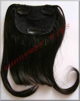 Sunnymay Straight Natural Color Virgin Malaysian Hair fringe