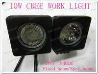 FREE FEDEX SHIPPING!! 6 Pcs/Lot 10W Cree Led High Power Work Light SUV ATV 4x4 Truck Lamps fog lights spot beam