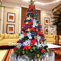 Luxury encryption christmas decoration 1.8 meters christmas tree bundle 180cm Free Shipping