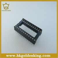 20pcs 24 Pin DIP SIP DIP-24  IC Sockets Adaptor Solder Type