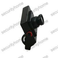 Mini 2040+638/639 HD SONY CCD 600TVL Video Color Box CCTV Camera 12mm Board Lens