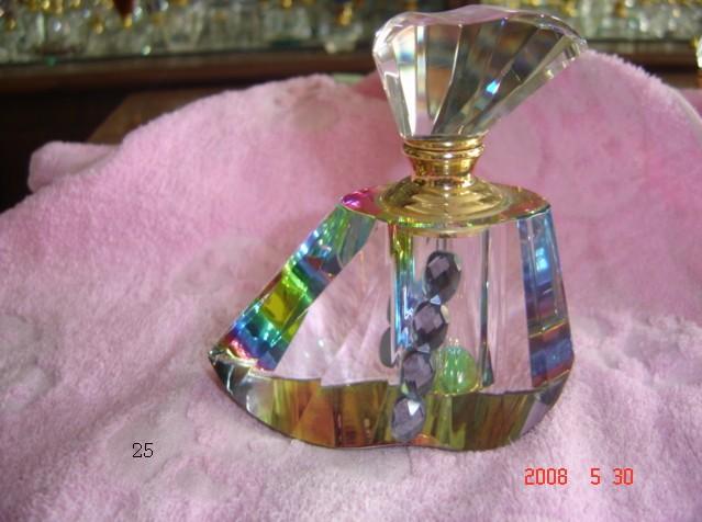 Wholesale custom crystal body perfume bottle, 50 wholesale.FOB(China (Mainland))