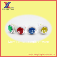 100pcs 33mm p4 push bottons with microswitch,arcade machine button