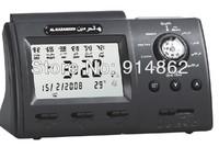 50pcs/lots Ramadan gift Digital Automatic aomplete azan for all prayers Islamic Azan clock Alarm Clock black color
